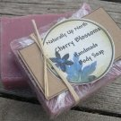 Cherry Blossoms Handmade Cold Process Vegy Soap Fruity Floral Delightful Jasmine Rose