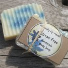 Stress Free Handmade Cold Process Vegy Body Soap Sensual Calming Relaxing