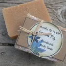 Spiced Fig Handmade Cold Process Vegy Body Soap Spicy Fruity