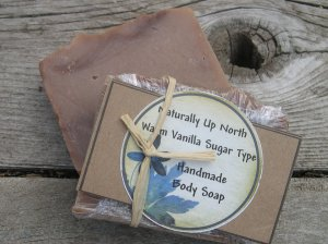 Warm Vanilla Sugar Type Handmade Cold Process Vegy Body Soap Sensual