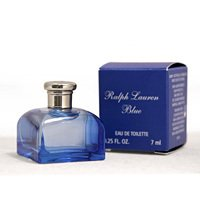 Lot of 100 RALPH LAUREN BLUE Perfume Mini .25 oz.Woman