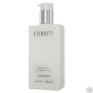 ETERNITY Calvin Klein Womans BODY LOTION 6.7 OZ