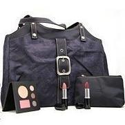 Lancome Handbag with Cosmetic case & make up set