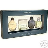 Calvin Klein Set Mini Fragrances for Men 2 oz total