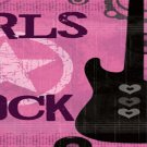 Girls Rock Bookmark
