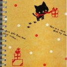 KAMIO Animal Footprint Kitten B6 Spiral Notebook Kawaii