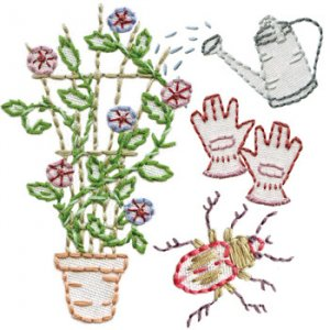 Sublime Stitching Embroidery Pattern: Garden Variety