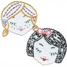 Sublime Stitching Embroidery Pattern: Cute Little Heads