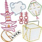 Sublime Stitching Embroidery Pattern: Chinatown