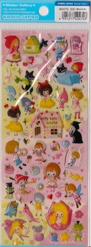 KAMIO Fairy Tale World Epoxy Sticker 3 Riding Hood