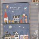 KAMIO Ropo Ropo Village Letter Set Mizuka w/ Beck Bear