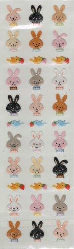 ARK ROAD Bunny Sticker Set