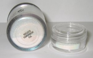 MAC - Reflects Transparent Teal 1/4 tsp Glitter Brilliant Sample