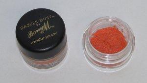 Barry M - Orange 1/4 tsp Dazzle Dust  Sample