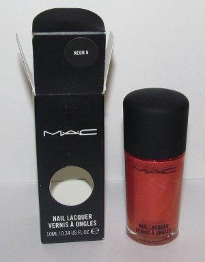 MAC - Neon 8 Nail Polish - NIB - HTF - RARE!