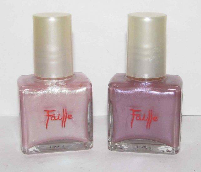 2 piece set Nail Polish - Faille