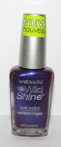 Wet 'n' Wild Nail Polish - Wild Shine - Eggplant Frost