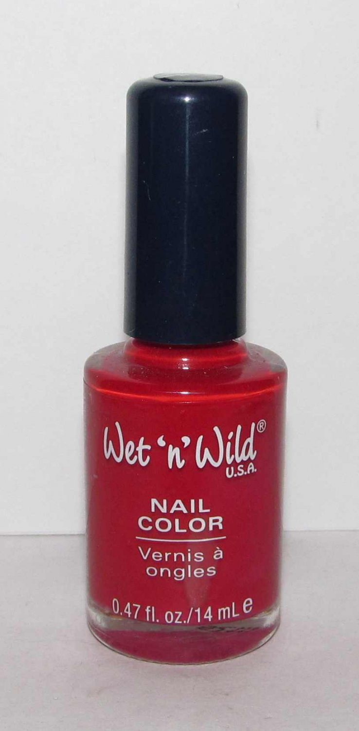 Wet 'n' Wild Nail Polish - Red Red