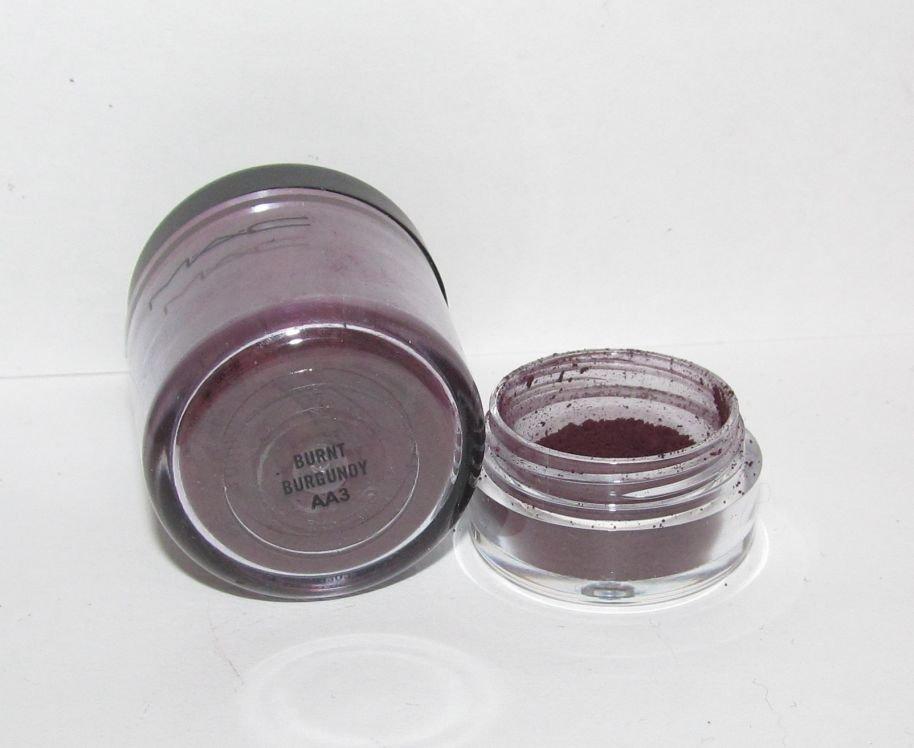 Mac Burnt Burgundy 1 4 Tsp Pigment Sample