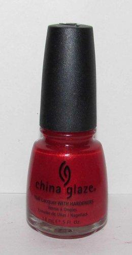 China Glaze Nail Polish - Go Crazy Red - NEW