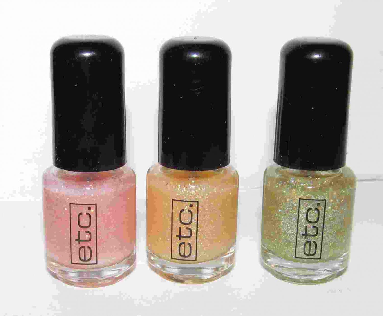 etc. Nail Polish - 3 Polish Set