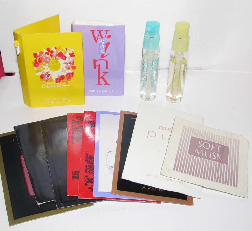 Avon, mark, Mary Kay Fragrances Sample Lot - Embrace Happiness / U by Ungaro / Christian Lacroix