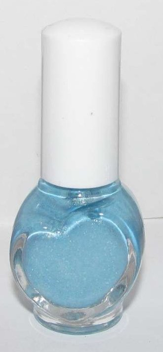 Hanagoyomi Nail Polish - Light Blue Glitter