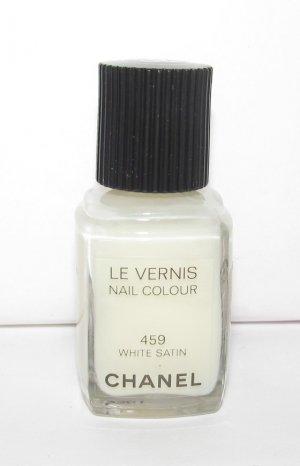 CHANEL Nail Polish - White Satin 459 - NEW *TESTER*