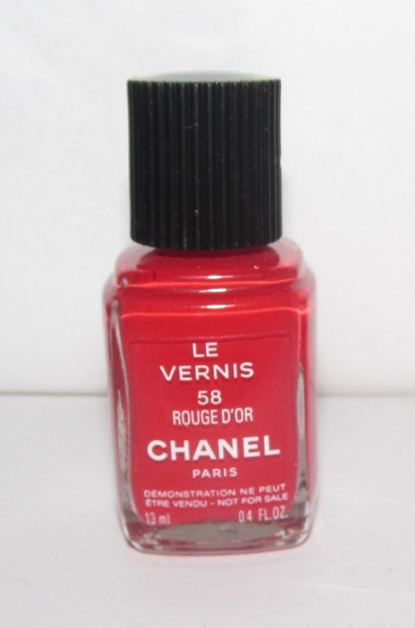 CHANEL Nail Polish - Rouge D'Or 58 VHTF - RARE *tester*