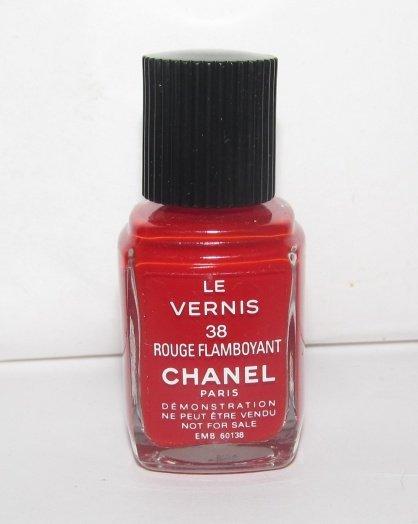 CHANEL Nail Polish - Rouge Flamboyant 38 - NWOB - VHTF - RARE *TESTER*