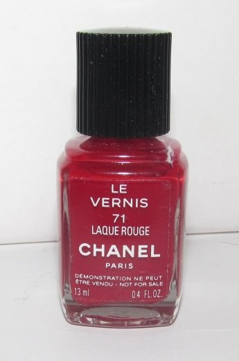 CHANEL - Laque Rouge Nail Polish NWOB TESTER - RARE - HTF!