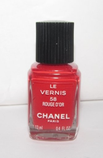 CHANEL Nail Polish - Rouge D'Or 58 VHTF - RARE NEW