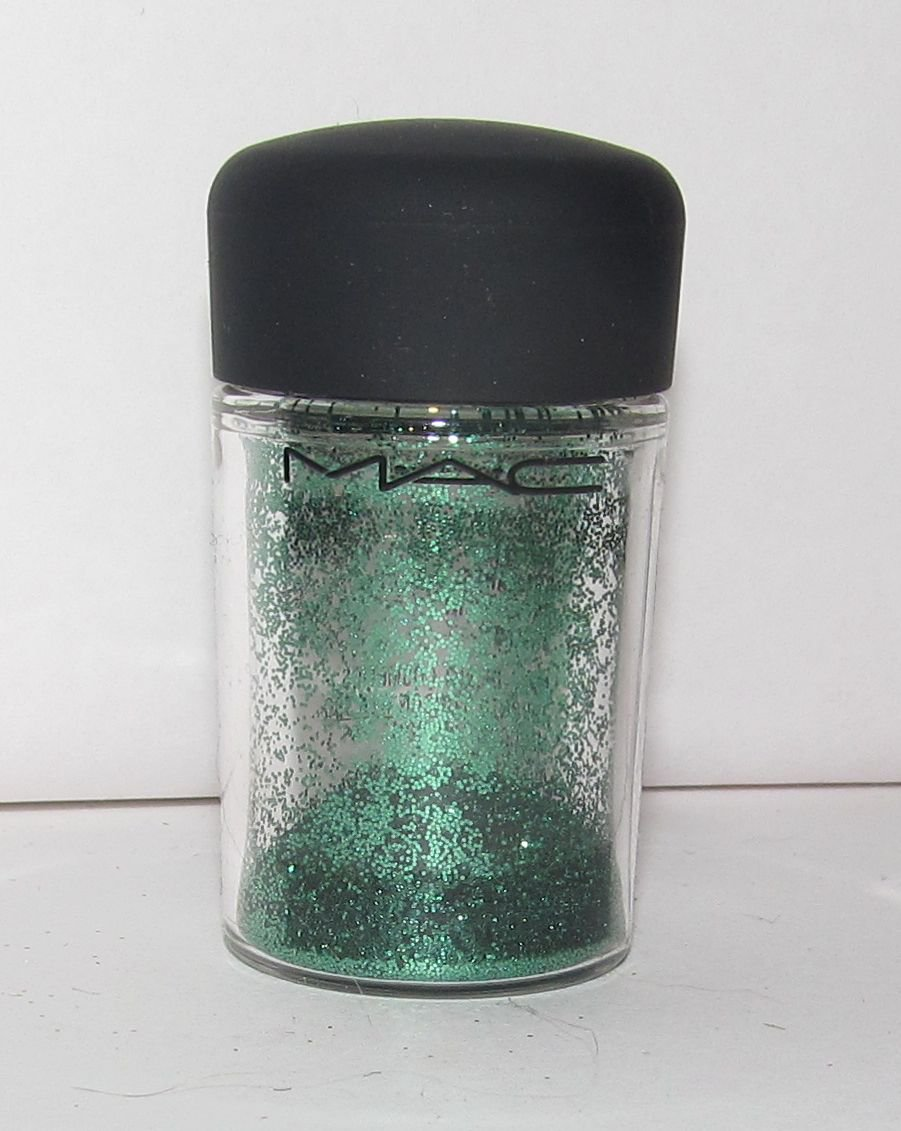 MAC Glitter Brilliant - Emerald - 1/4 tsp Sample w/Original Jar