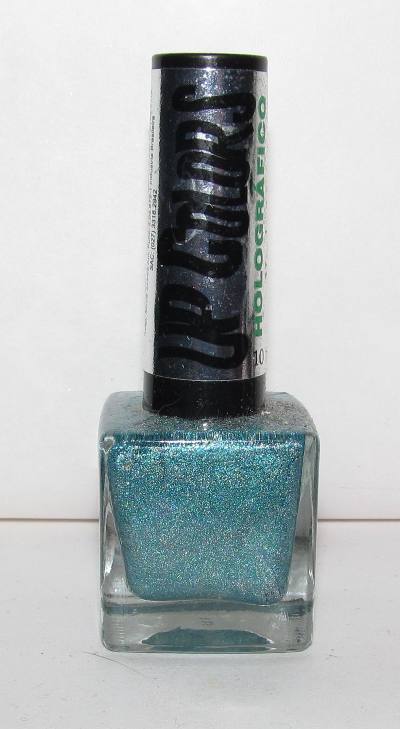 Up Colors Nail Polish - Verde 360 Holographic - NEW