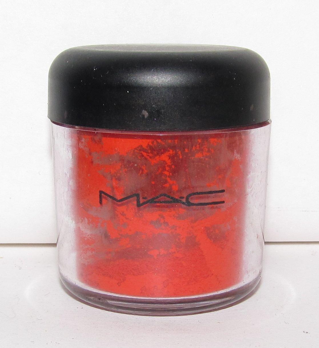 MAC - Red Pigment 1/4 tsp Sample in Original Jar  - HTF - RARE!