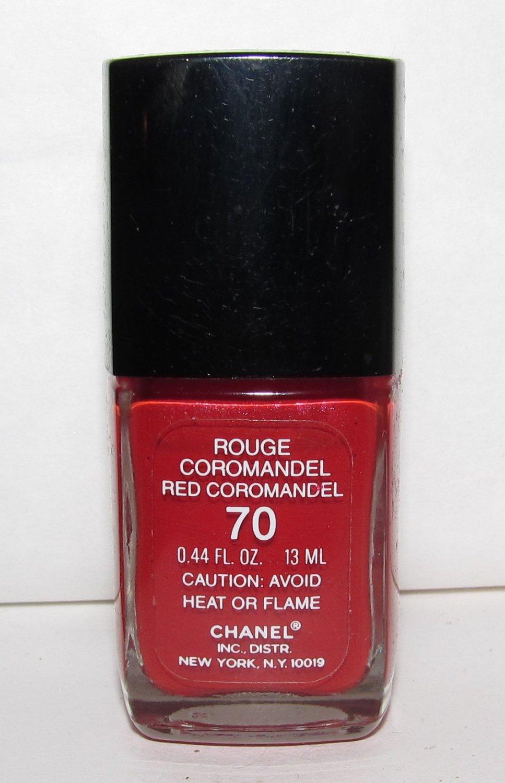 CHANEL Nail Polish - Rouge Coromandel 70 (Red Coromandel) RARE - HTF