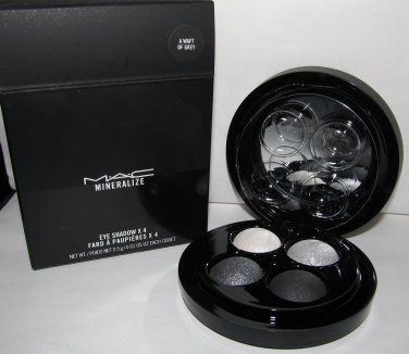 MAC Mineralize Eye Shadow x 4 - A Waft of Grey - New