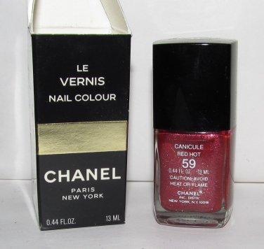 CHANEL Nail Polish - Canicule (Red Hot) 59 - VHTF - RARE