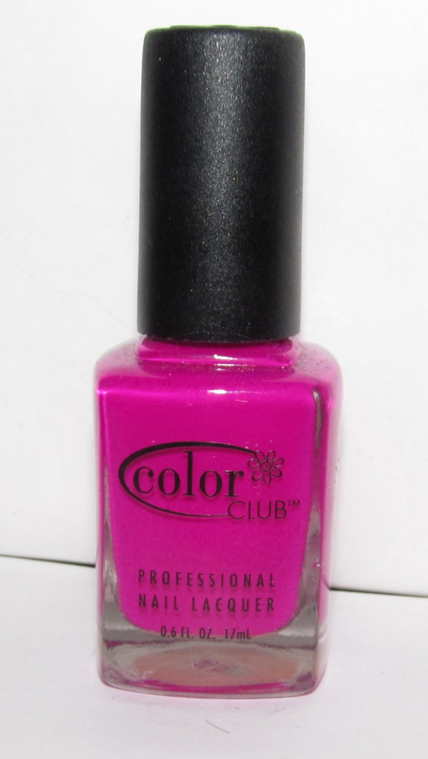 Color Club Nail Polish - Neon Purple N43 - NEW - HTF RARE!