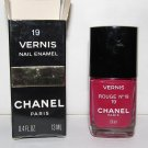 CHANEL Nail Polish - Rouge No 19 - NEW - VHTF - RARE