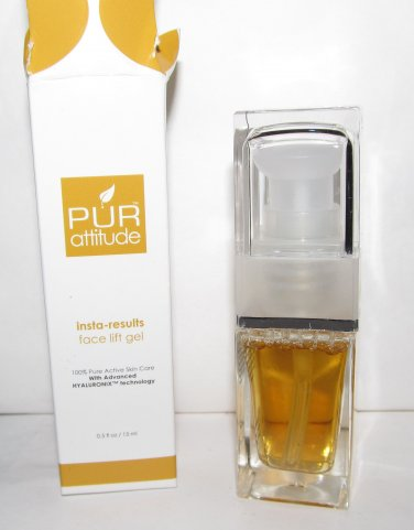 PUR attitude Insta-Results Face Lift Gel - NEW
