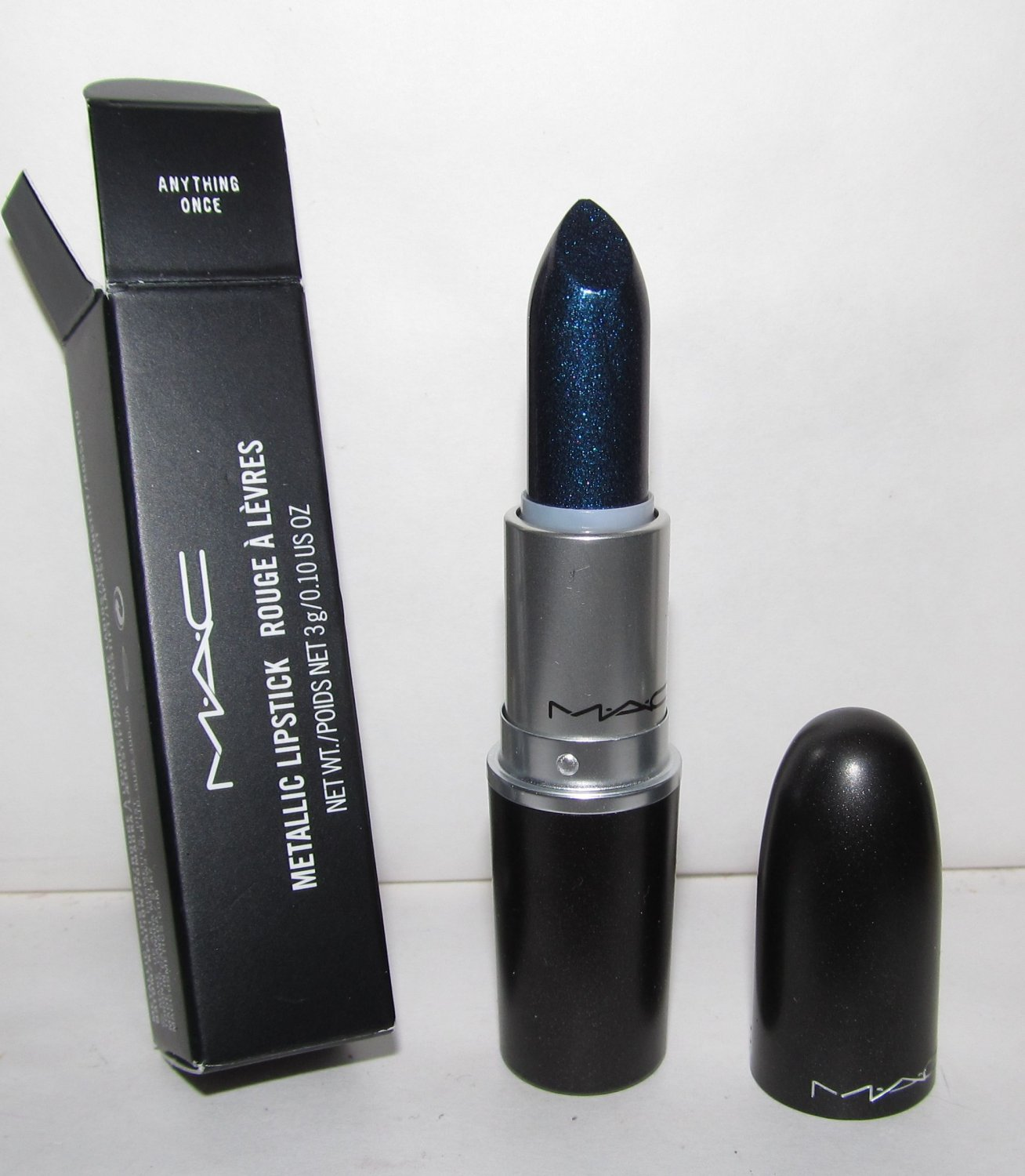 MAC Metallic Lipstick - Anything Once