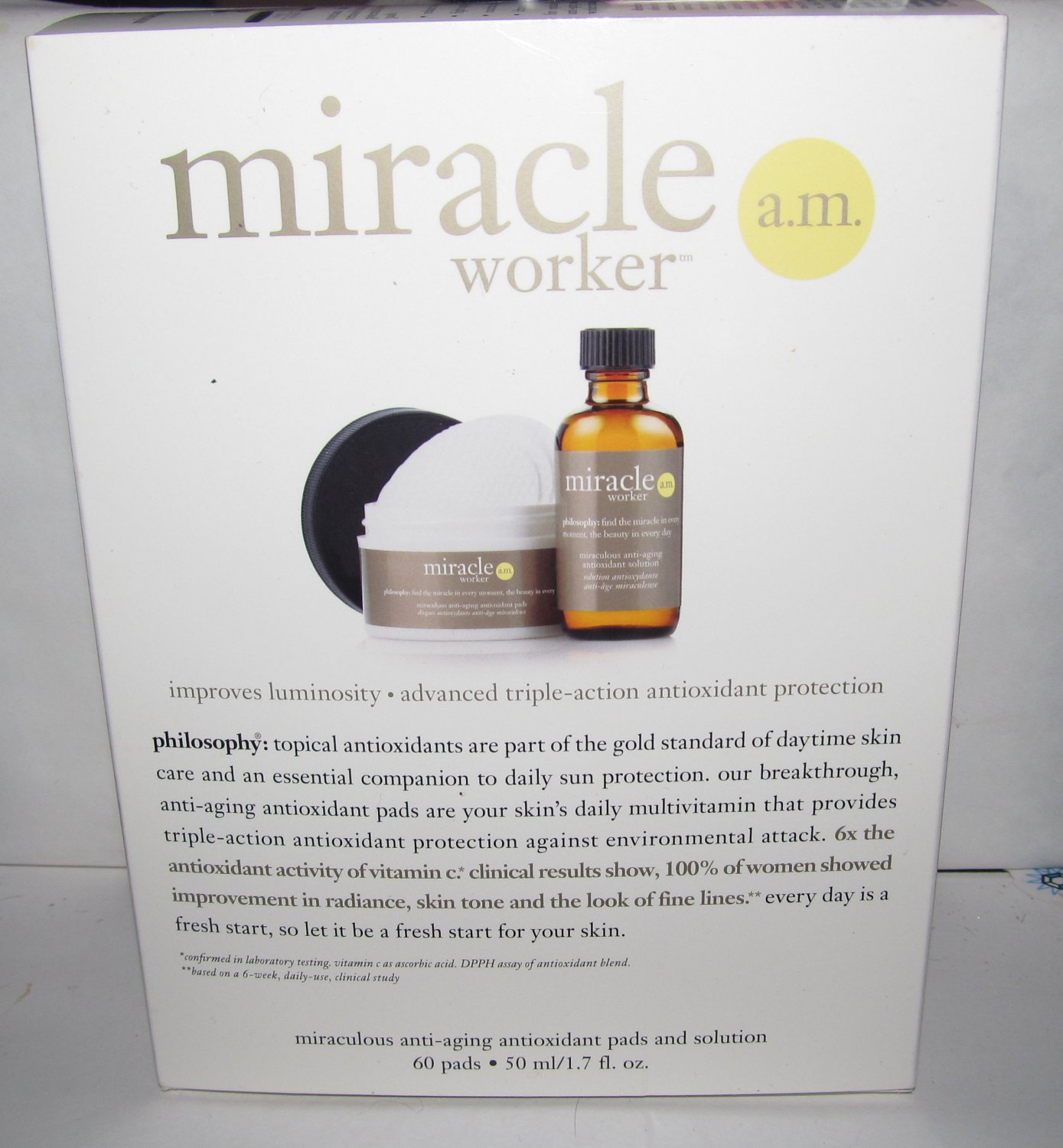 Philosophy - Miracle Worker AM - NEW