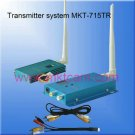 MKTCAM Wireless Video Transmitter System 1.5GHZ 700mW MKT-715TR