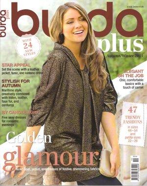 NEW Burda Plus Magazine Patterns Fall/Winter 2011 Sizes 14 - 26 English Women