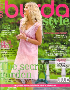 NEW Burda Style Magazine 06/2012 Uncut Folded Patterns US 4-24 EUR 34-52 English