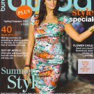 NEW Burda Plus Pattern Magazine Spring/Summer 2013 US14-26 EUR 44-54 Women Eng