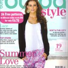 NEW Burda Magazine 05/2013 Uncut Folded Patterns US 2/4-24 (EUR 34-52) English