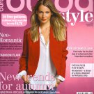NEW Burda Magazine 08/2013 Uncut Folded Patterns US 2/4-24 (EUR 34-52) English