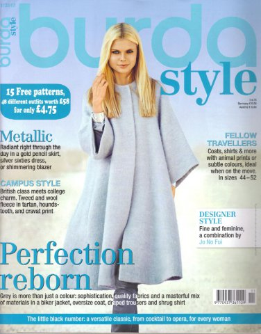 NEW Burda Magazine 11/2013 Uncut Folded Patterns US 2/4-24 (EUR 34-52) English